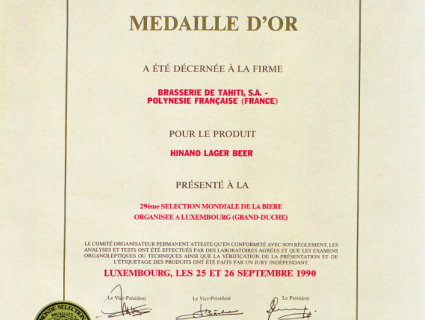 certificat_medaille_or_hinano
