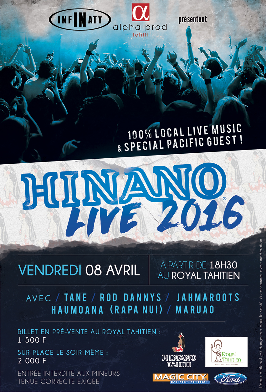 Visuel Hinano Live 2016 BAT final