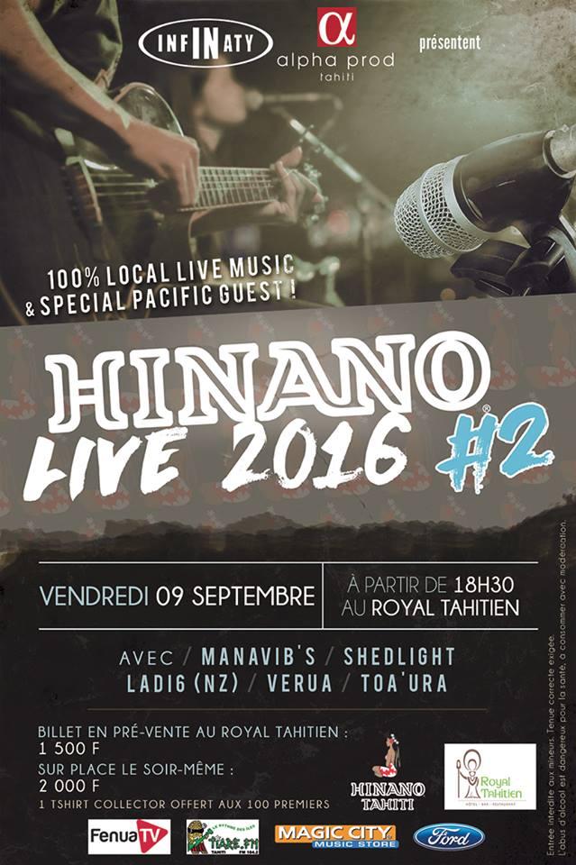 Hinano live #2 2016